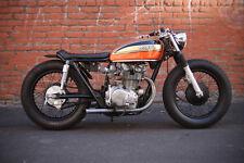 1974 HONDA CB450 CAFE VINTAGE MOTORCYCLE POSTER PRINT 24x36