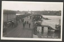 Postcard Ryde on Isle of Wight view of The Pier RP by Dean Bay Series