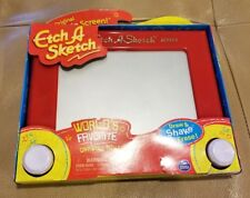 Etch A Sketch Classic Red Magic Drawing Screen Toy Regular Size Spin Master
