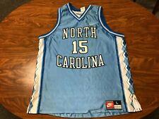 Mens Vtg 90'S Nike North Carolina Tar Heels Vince Carter Basketball Jersey Large