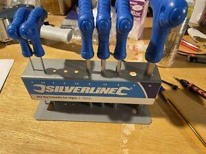 Silverline 323710 Hex Key T-Handle Set 2-10 mm - 6 Pieces