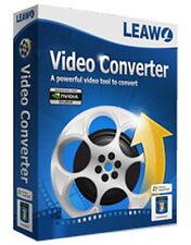 Leawo Video Converter 7 - Edit + Convert 2D, 3D, HD, 4K - GENUINE LICENSE [ESD]