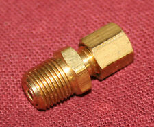 1/8 npt 1/8 comp tube Check Valve Gas Engine Hit Miss Fuel Brass Motor Water Oil
