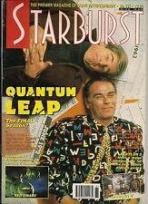 Starburst No.185 1994 QUANTUM LEAP, TERRY PRATCHET DISCWORLD