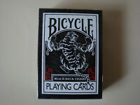 BICYCLE BLACK DECK TIGER RED PLAYING CARDS BY ELLUSIONIST POKER MAGIC TRICKS