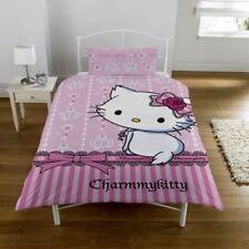 Lenzuola e biancheria da letto rosa Hello Kitty