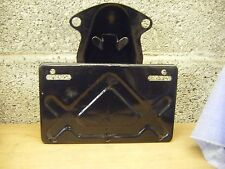 Honda 1970s tail light and no plate bracket and fixings