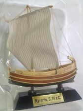 Kyrenia Siglo IV a.C. BARCO VELERO MADERA navío Nautica