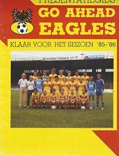 Presentatiegids Go Ahead Eagles 1985-1986