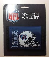 TENNESSEE TITANS  NYLON TRIFOLD WALLET BILLFOLD NFL LICENSED NEW