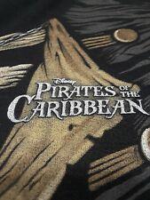 Disney Disneyland Theme Park Pirates Of The Caribbean Hoodie Black. Size S