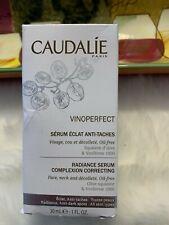 CAUDALIE Vinoperfect Radiance Serum Complexion Correcting, 1 fl oz, NEW IN BOX