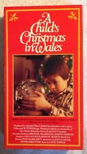 A Child's Christmas in Wales (LN Prev. Viewed VHS) RARE HTF