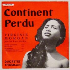 Continent perdu 45 tours Virginie Morgan 1956