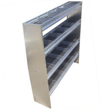 "60"" Height 50"" Wide Aluminum Angled Shelving Unit"
