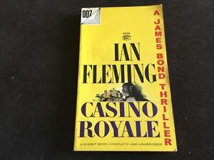 Ian Fleming CASINO ROYALE James Bond 007 Thriller 1953 Signet Paperback