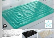 Unbranded Rectangle Solid Pattern Bath Mats