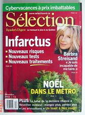 SÉLECTION DU READER'S DIGEST DE DÉCEMBRE 2003, EN COUVERTURE BARBRA STREISAND