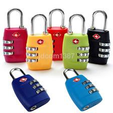 Useful TSA 3-Digit Combination Travel Luggage Suitcase Bag Code Lock Padlock US