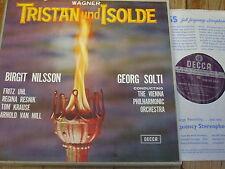 Set 204-8 WAGNER TRISTAN UND ISOLDE/Nilsson/Solti con B 6 LP BOX