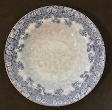 VINTAGE ROYAL DOULTON SOUP BOWL BLUE DAISY CIRCA 1907