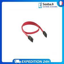 "Câble SATA III 42cm SSD ou Disque Dur ou SSD (2.5"", 3.5"") 6Gb/s Rouge"