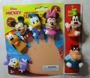 Disney Mickey Mouse 7 Pack Finger Puppet Party Pack Bath Time, Pool, Anytime Fun