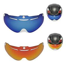New Walleva Polarized Fire Red + Ice Blue Lenses For Giro Air Attack Helmet
