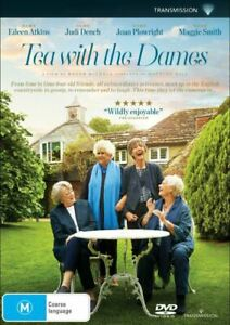 Tea With The Dames (DVD, 2018)  JUDI DENCH / MAGGIE SMITH..R4..NEW & SEALED   V4