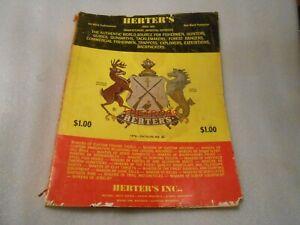 Vintage 1976 Herter's Fishing Outdoor Catalog No.86