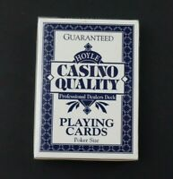 Hoyle Casino Quality Professional Dealers Deck Playing Cards Nevada Finish New