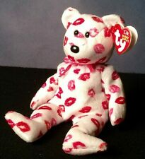 Ty Beanie Baby Kissy The Bear NEW