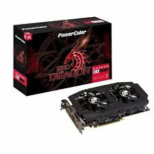 PowerColor RX 580 Red Dragon  4 GB GDDR5 Brand New Sealed DL-DVI-D/HDMI/DP*3