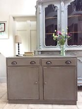 Hand Painted Sideboard Freestanding Kitchen Unit Cupboard
