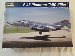 "Revell F-4E Phantom ""Mig Killer"". 1:32 85-4668 + bonus items."