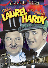 LAUREL AND HARDY: EARLY SILENT CLASSICS - VOLUME 5 NEW DVD
