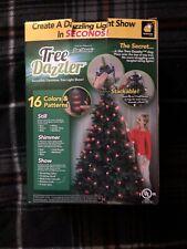Star Shower Christmas Tree Dazzler LED Light Show 64 BULBS 16 Light Patterns