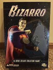 "DC Direct 12"" Deluxe Collectors Edition Bizarro 1/6 Scale Figure NEW IN BOX"