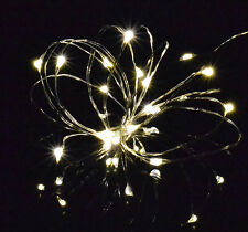 20 30 40 Micro LED Silver Wire Christmas USB Fairy Lights Warm White Waterproof Cold White 20 LEDs
