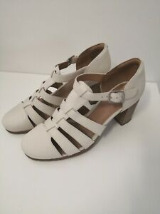 Womens Artisan Heel Sadals 6 1/2 Hollow Out Closed Toe Comfort Gladiator Shoes