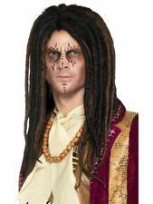 NUOVO Bob Marley Marrone Dreadlock Parrucca