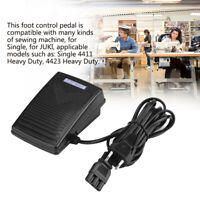 Pedal de Control de Pie Electrónico con Cable para Máquinas de Coser 200-240V EU