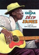 The Guitar of Skip James LEARN TO PLAY Blues Folk Guitar Music Lesson Tutor DVDs