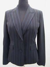 Women's Alfani Striped Blazer Fitted Jacket Dress Coat Suit Career Formal SZ 10