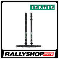 TAKATA DRIFT II harness ECE-R FMVSS legal street BLACK belt Snap On Racing ASM