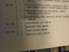 cv axle boot inner fits 1986 1987 1988 1989  ford tarus mercury sable