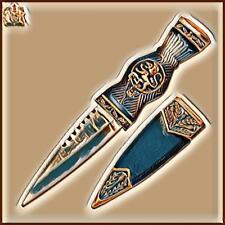 Royal Scotland Scottish Lion Scots Celtic Clan Dirk Sgian Knife Dagger Blade +44