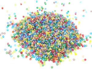 1000 Cuentas de Rocalla Multicolor Mate Danza Ø 2 MM 12/0 - Creación Joyería