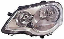 VOLKSWAGEN POLO 2005-2009 HEADLAMP CHROME PASSENGER SIDE NEW O.E 6Q2941007N