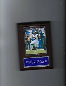 STEVEN JACKSON PLAQUE ST. LOUIS RAMS LA FOOTBALL NFL